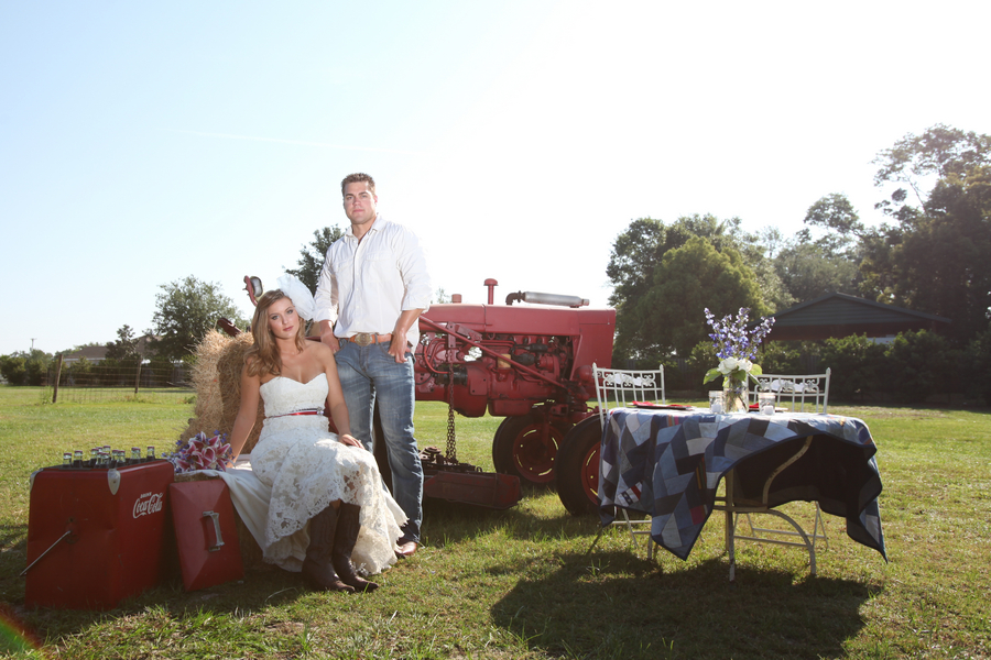 Americana Inspiration Shoot via TheELD.com