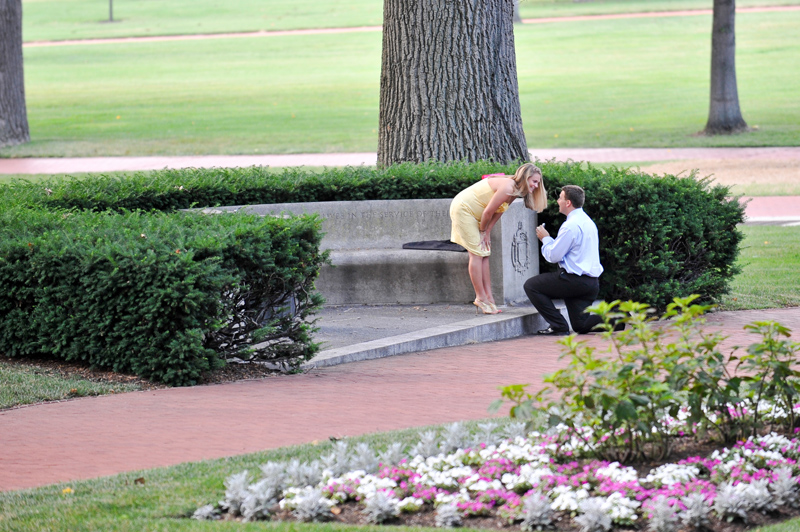 Proposal Captured By Natalie Franke Photography via TheELD.com