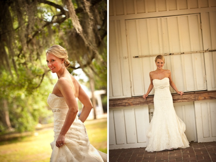 Classic Cornflower Blue Southern Wedding via TheELD.com