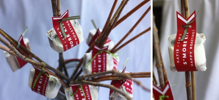Detail To Love: Smore Kit Favors via TheELD.com
