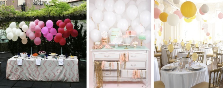 Detail To Love: Balloons As Decor! via TheELD.com