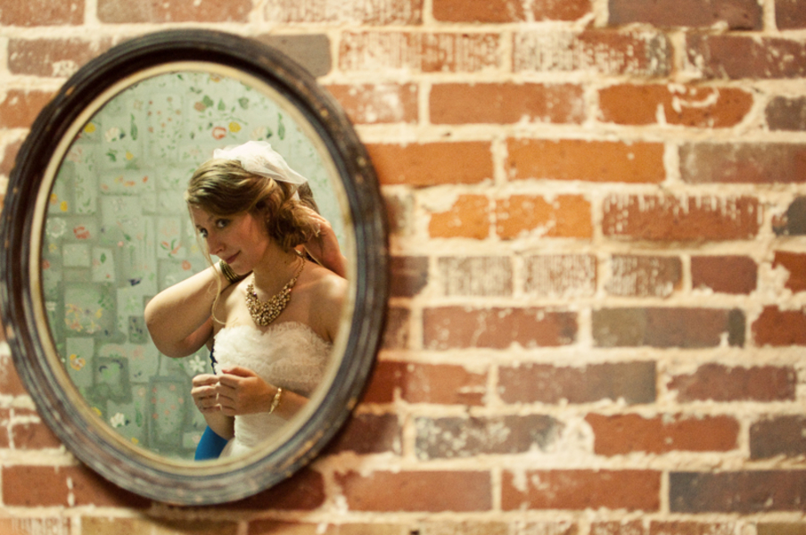 Vintage Eclectic South Carolina Wedding via TheELD.com
