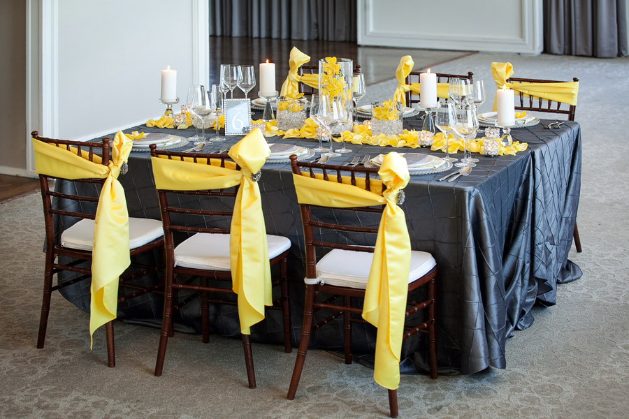Modern Yellow Slate Wedding Inspiration Every Last Detail