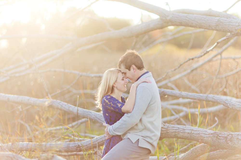 Gorgeous Engagement Session By Kristin LaVoie Photography via TheELD.com