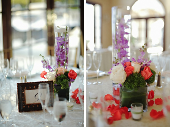 Modern Elegant Florida Wedding via TheELD.com