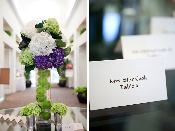 Elegant Green And Purple Wedding Every Last Detail