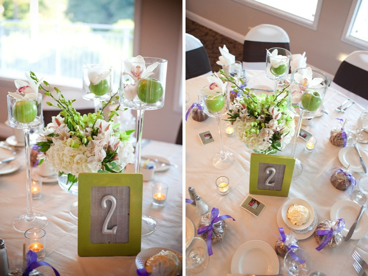Elegant green and purple wedding every last detail elegant green and purple wedding via theeld junglespirit Choice Image