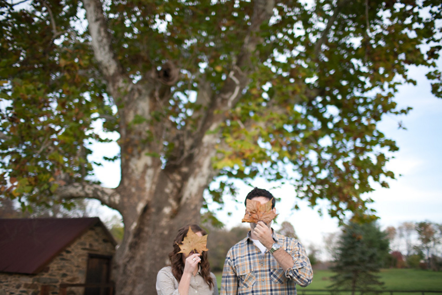 A Farm Engagement Session By Kate Triano Photography via TheELD.com