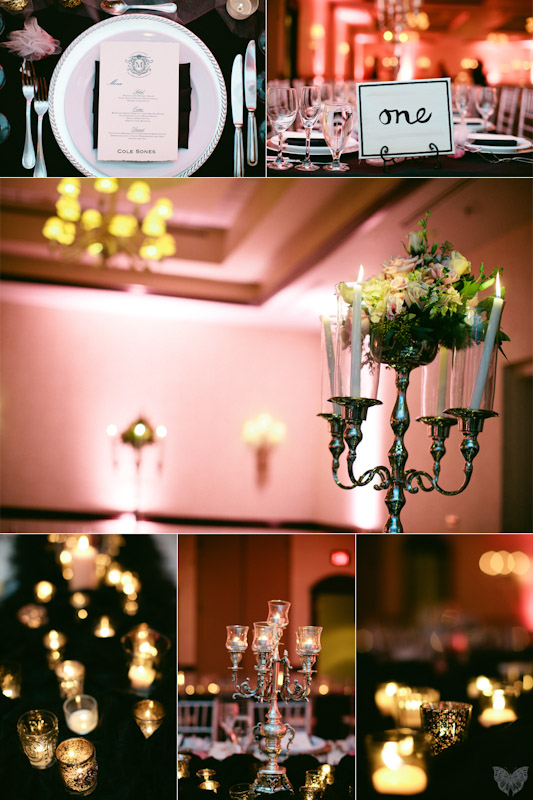Stylish & Modern Pink & Black Wedding {Part 2} via TheELD.com