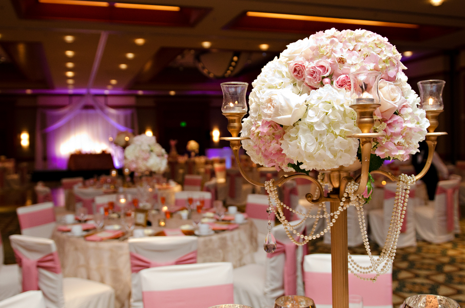 Elegant Pink and Gold Florida Wedding | Every Last Detail