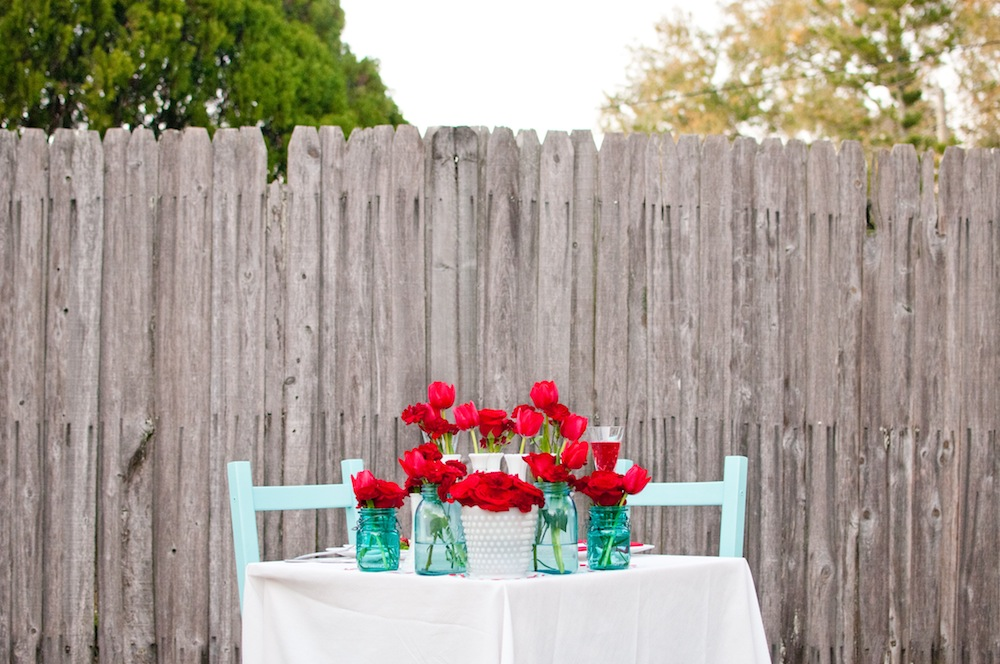 Romantic Backyard Dinner Ideas : Valentines Day DIY Dinner Date Inspiration  Every Last Detail