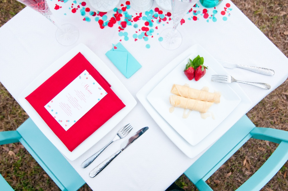 Valentines Day DIY Dinner Date Inspiration via TheELD.com