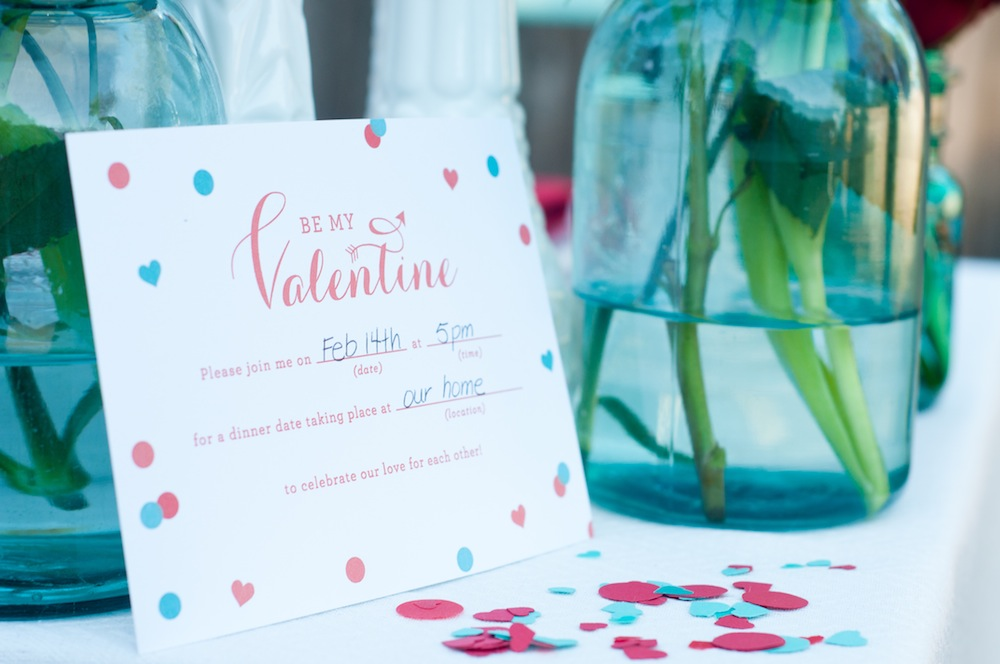 Valentines Day DIY Dinner Date Inspiration Via TheELD.com ...