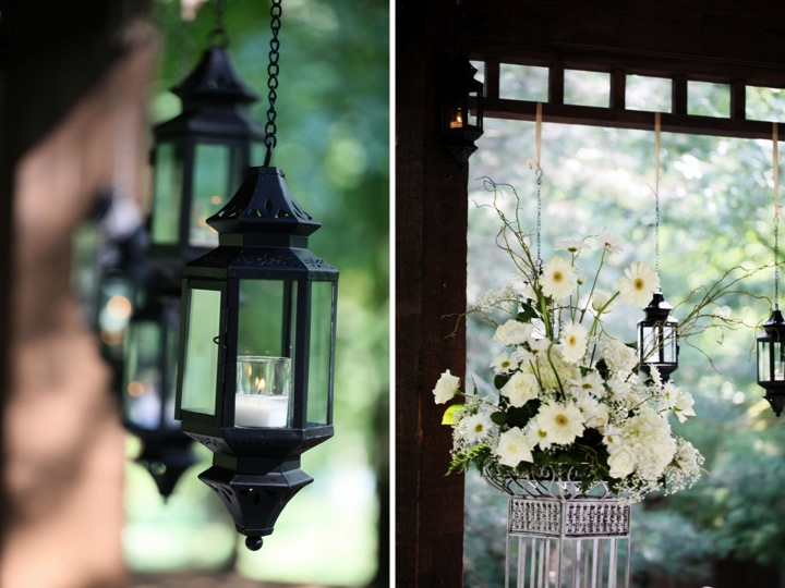 Elegant Gold and White Missouri Wedding via TheELD.com