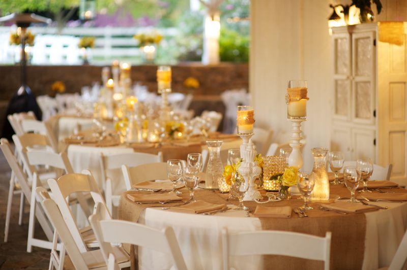 Rustic Chic Yellow & Gray Wedding - Every Last Detail