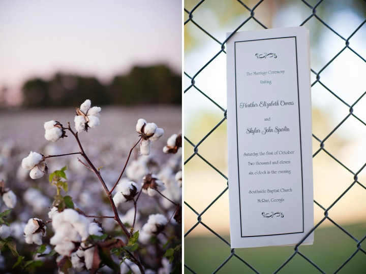 Southern Georgia Rustic Elegant Wedding via TheELD.com