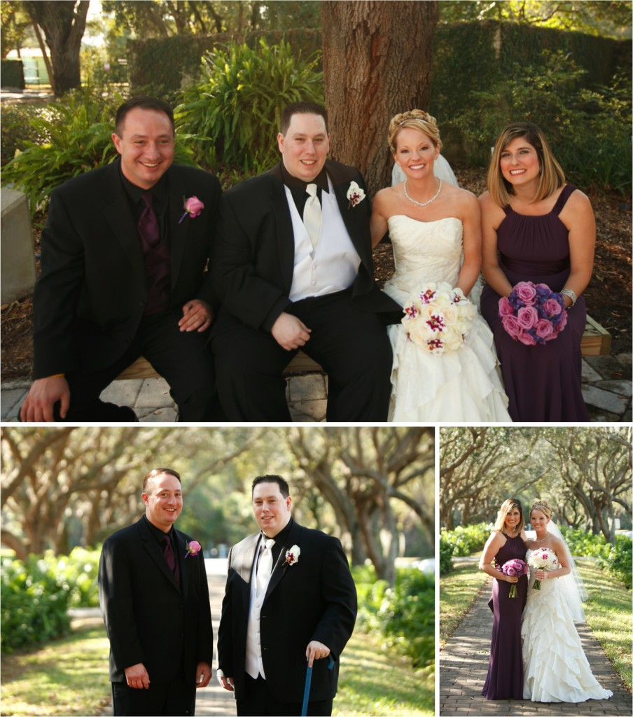 Colorful and Classic Tampa Wedding via TheELD.com