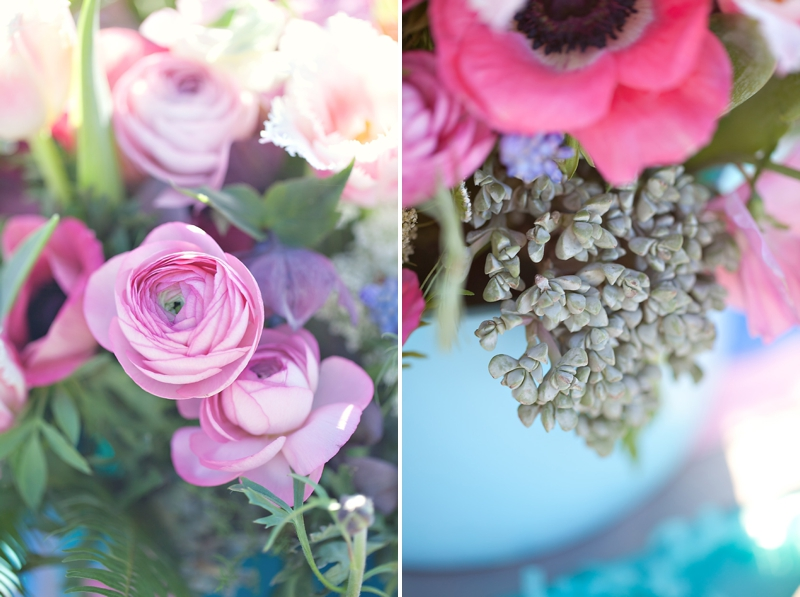 Wedding Detail Inspiration: Modern Cobalt Blue & Plum via TheELD.com