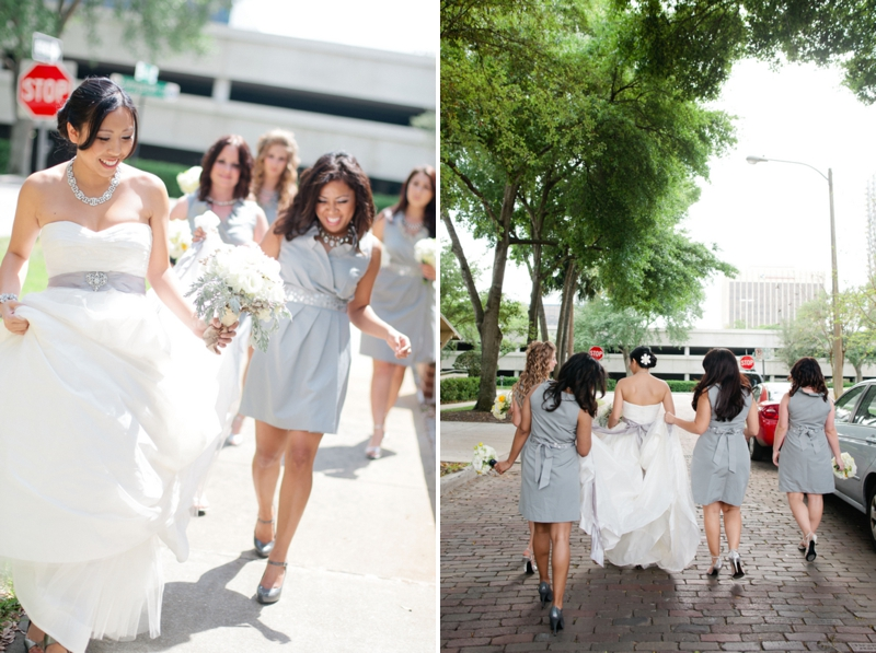 Modern Gray, White and Yellow Wedding | Every Last Detail
