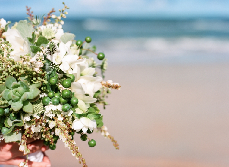 Natural & Eclectic Beach Wedding Ideas via TheELD.com