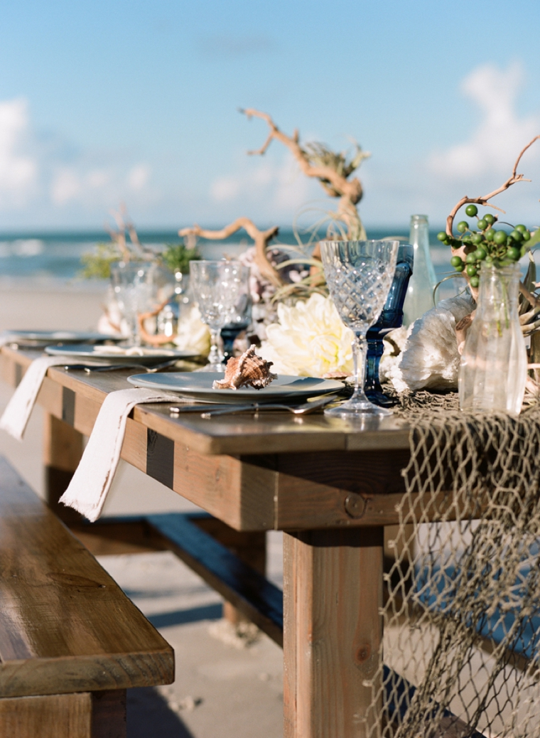 Natural Eclectic Beach Wedding Ideas Via TheELD