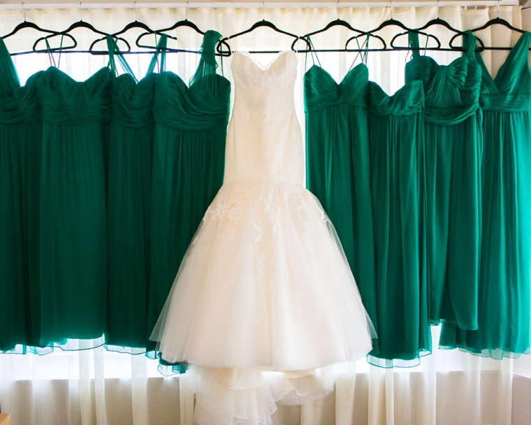 A Vintage Glam Emerald Green Wedding Every Last Detail