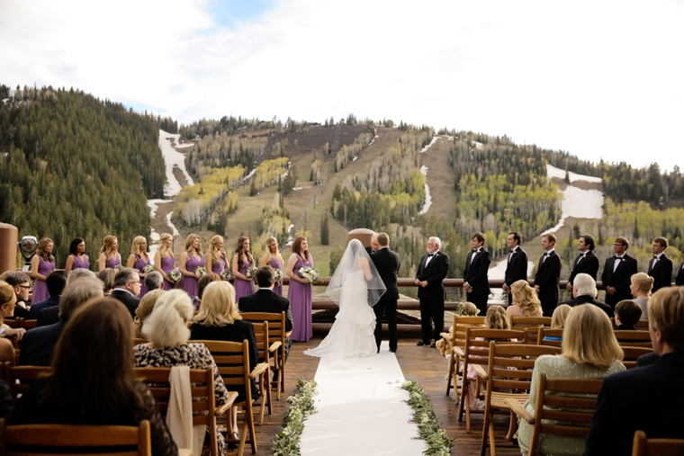 Lavender & Green Nature Inspired Utah Wedding via TheELD.com