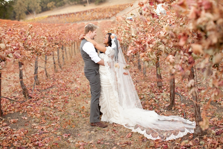Rustic Vintage Fall Wedding Via TheELD