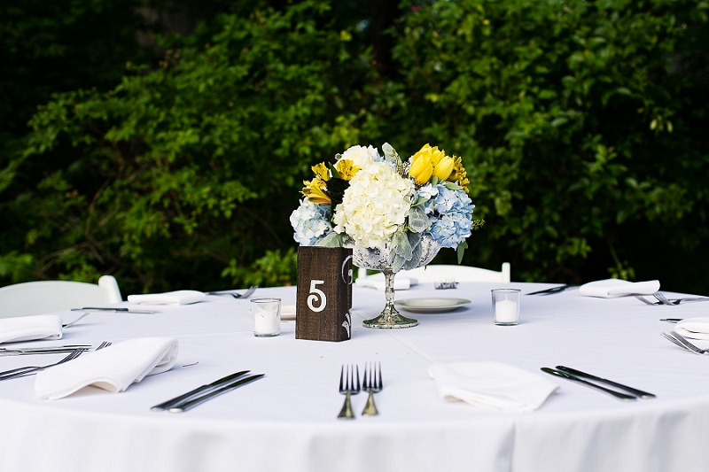 Whimsical Navy and Yellow Texas Wedding via TheELD.com