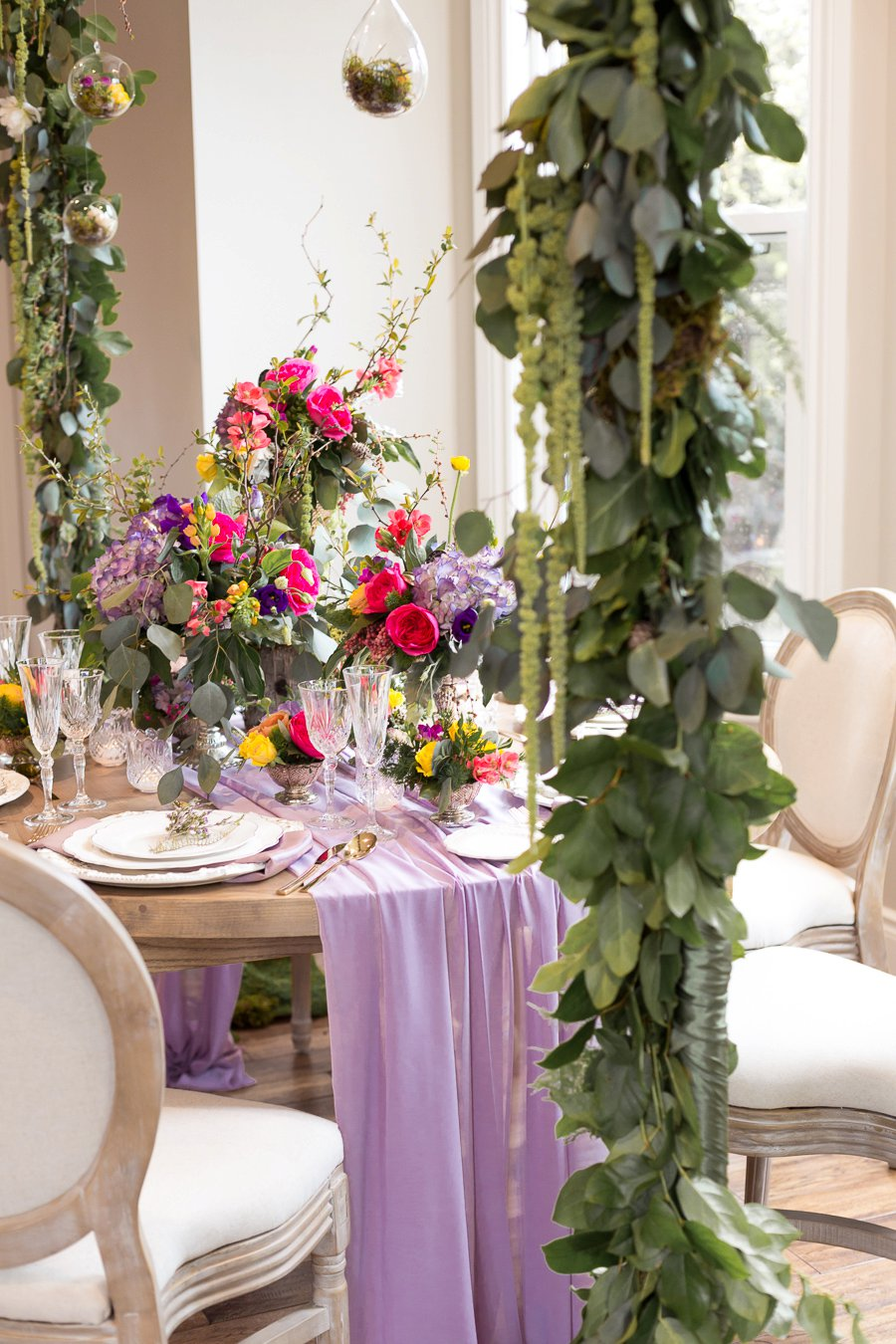 Organic & Colorful Wedding Ideas Inspired by A MidSummer Nights ...