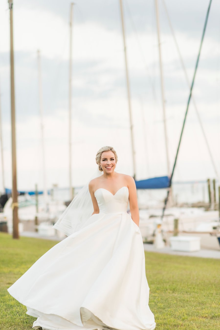 A Preppy, Classic Navy & White Nautical Wedding | Every Last Detail