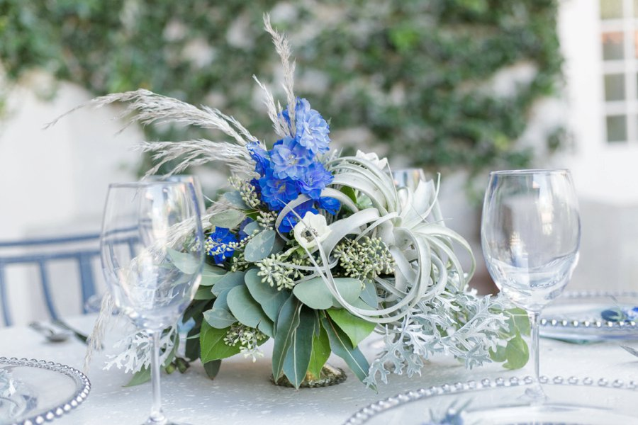 Blue & Green Vintage Garden Wedding Ideas via TheELD.com