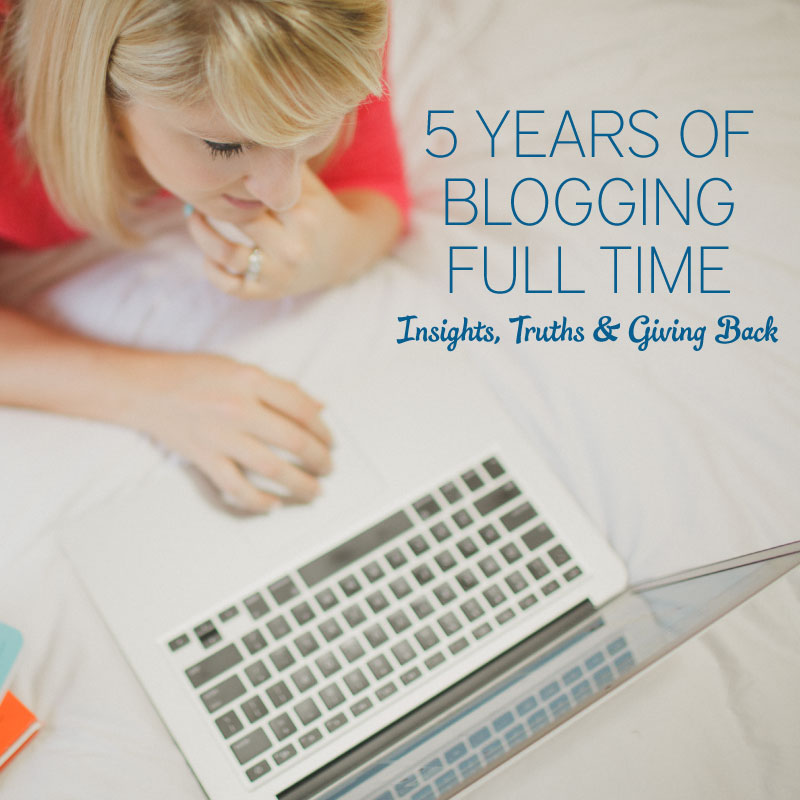 5 Years of Blogging Full Time: Insights, Truths, & Giving Back via TheELD.com